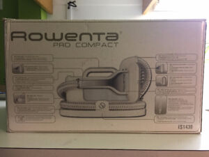 Rowenta IS1430 Pro Compact Garment Steamer w/Attachments