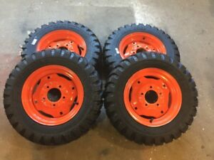 New OEM Bobcat wheels and tires