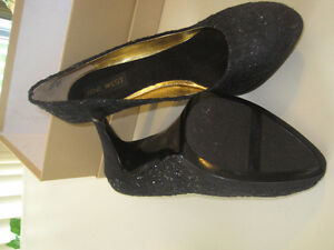 Two Pairs of High Heel Dress Shoes - Black  Both for $35.00 West Island Greater Montréal image 3