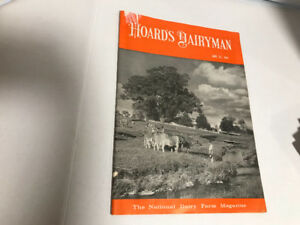 Vintage Hoard's Dairyman Magazines, 1960's and 1970's