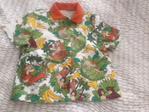 The Jungle Book Top and Short set