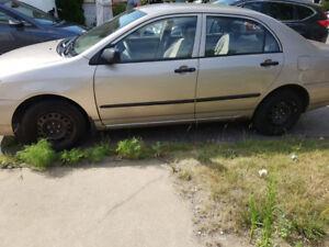 Toyota Corolla 2003 à vendre.