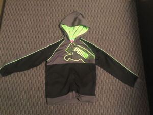 PUMA 3 pc Set Fleece Lined Track Suit w/T, EXCELLENT Condition!