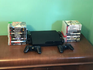 PS3, controllers, move, microphones and 31 games