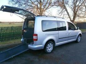 2012 Volkswagen Caddy Maxi Life 1.6 TDI 5dr WHEELCHAIR ACCESSIBLE VEHICLE 5 d...