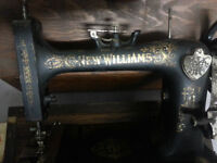 CLEARING - $30. New Williams Sewing Machine in Case