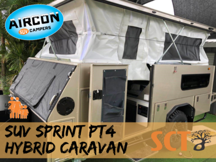 2018 Sprint PT4 Hybrid Pop Top Caravan Cairns Cairns City Preview