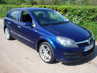 2004 54 Plate Vauxhall/Opel Astra 1.4i 16v ( a/c ) Life , Only 72,000