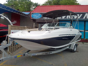 BRAND NEW 2016 hurricane 187 sundeck deck boat with 150hp ETec