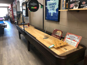 Shuffleboards by Brunswick at the Family Recreation Store