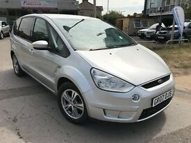 Ford S-Max 1.8TDCI ZETEC 6 SPEED 125PS (silver) 2007