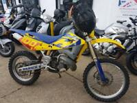 Husqvarna WR 250 Two Stroke Enduro bike 2004