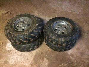 ATV tires and rims 25x8-12 25x11-12