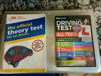 Driving theory test pack