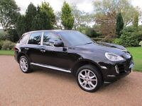 Porsche Cayenne 3.6l Tiptronic Black with full black leather