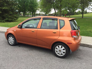 AVEO 2005,AUTOMATIC,BAS MILAGE 100K KM,TOUT EQUIPE,IMPECCABLE
