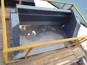 Quick attach Bucket and Blades for Tractor, Skid Steer