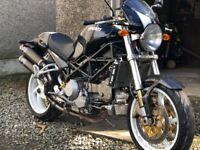 Ducati Monster S4R, 2007, 996cc, 1750mls £5550