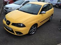2007 seat ibiza fr 1.9tdi 170bhp 1 years mot swap for why