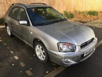 2005 05 Grey Subaru Impreza 2.0 GX Automatic Wagon