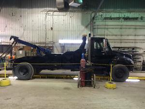 Inter Towing wheel lift 15 tonnes Manuel dt466 diesel