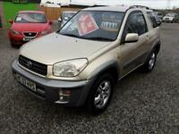 2003 Toyota Rav 4 2.0 NRG 4X4-ALLOYS-AIRCON-CD-ALLOYS-TOWBAR-CHEAP WINTER 4X4,,,