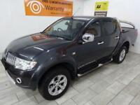 GREY MITSUBISHI L200 2.5 DI-D 4X4 WARRIOR LB DCB ***FROM £253 PER MONTH***