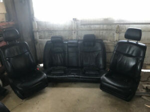 2002 LEXUS ES300 FRONT & REAR SEATS BLACK LEATHER