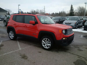 2016 Jeep Renegade North 4x4, Brand New just $30995