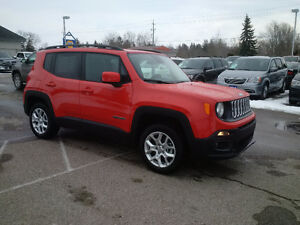 2016 Jeep Renegade North 4x4, Brand New just $27325