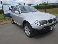 2004 54 BMW X3 2.5 SPORT 5D 190 BHP