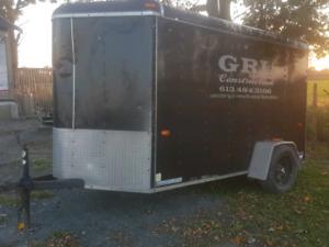 2008 10' x 5' enclosed trailer