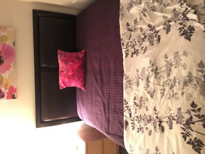 Moving Sale!!! Bed frame, tv stand,Coffee machine,storage drawer