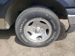 "ISO Ford F150 Rims 15"" 5x135"
