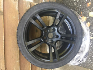 Panamera 20 inch Winter Tires and Rims