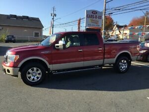 2010 Ford F-150 Lariat Super Crew 6.5-Foot Bed 4WD