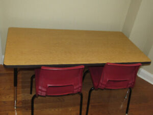 School/Daycare Activity Table & Chairs