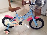 Girls bike. Dawes 12 inch, age 3-5