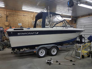 23ft StarCraft Fishing Boat