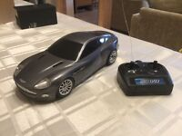 James Bond Aston Martin V12 Vanquish remote control car from Die Another Day
