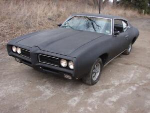 1969 Pontiac LeMans/GTO clone 12,900 certified