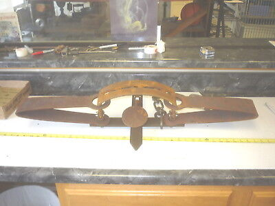 3 FOOT LONG    TRAP  TRAPPING  TOOL  MOUNTAIN  MAN  CAVE  CABIN