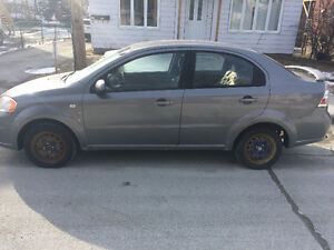 2008 Chevrolet Aveo Berline 1400$ nego