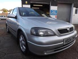 Vauxhall/Opel Astra 1.4i 16v 2004 Enjoy 79k P/HISTORY 6 STAMPS DRIVE AWAY TODAY!