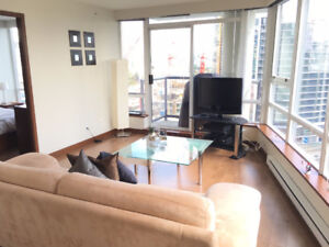 Yaletown Vancouver Modern Furnished 2 Bed / 2 Bath @ The Max