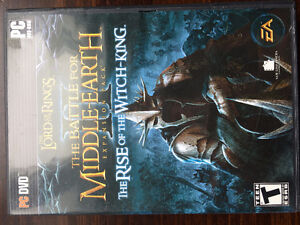 Lord of the Rings Battle for Middle Earth 1, 2, Extended Edition