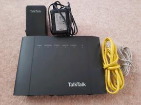 Talk Talk hub router