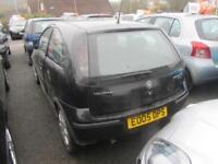 2005 Vauxhall Corsa Hatch 3Dr 1.2 16V 80 SXi Petrol black Manual