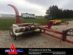 DION 1224 PULL TYPE FORAGE HARVESTER, AND 3 HEADS