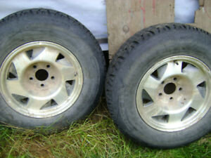 3 winter tires for sale 215 75 15